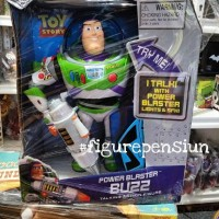 THINKWAY DISNEY PIXAR TOY STORY BUZZ LIGHTYEAR POWER BLASTER TALKING