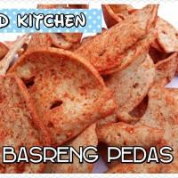 Jual Basreng Pedas Bakso Goreng Gurih Kering Kripik Makanan Khas Bandung Murah