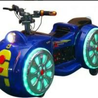 BATTERY MOTOR (BLUE) / motor aki / permainan anak