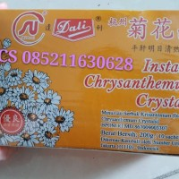 instant chrysanthemum crystal instant the kembang