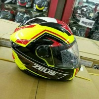 HELM ZEUS Z811 PLASMA AL5 FLUO YELLOW/RED