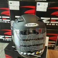 Jual Helm Zeus zs611 matte black Murah