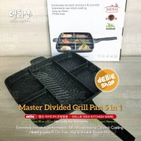 Messi 5 in 1 - Premium Divided Multi Grill Pan Wajan Panci Panggangan