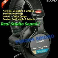Jual SONY MDR7506 / MDR 7506 Professional Sound Monitor Headphones Original Murah