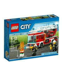 Jual LEGO City Fire Ladder Truck 60107 Murah