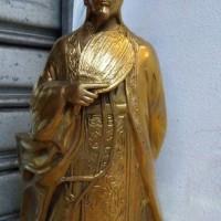 Patung Rupang Dewa Strategi Zhuge Liang