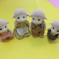 Sylvanian family sheep