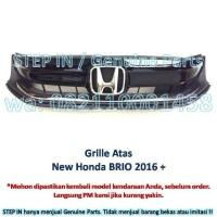 Grill Radiator Bemper Atas Honda NEW BRIO 2016 Grille Bumper Upper ORI