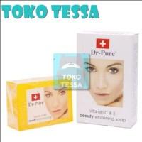 Harga sabun dr pure beauty whitening soap bpom pom na 181105004 toko | antitipu.com