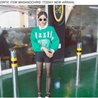 L8132 sweater tebal artis korea snsd hip hop w KODE PL8132