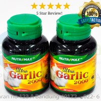 NUTRIMAX ULTRA GARLIC 2000 Suplemen Jantung Hipertensi 30