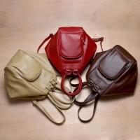 Tas Wanita Multifungsi Lucu & Trendy - Viyar Plum Convertible Bag