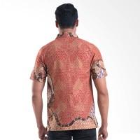 Batik Lengan Pendek Batik Solo Cotton 16/012A (P1)4 Batik Pria - Orang