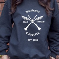 Jaket Hoodie Sweater Harry Potter Hogwarts Quidditch