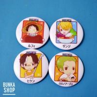 Pin Set Anime One Piece Food Theme