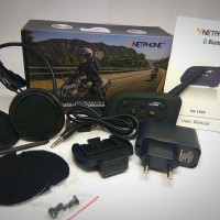 INTERCOM BLUETOOTH HELM V6 + INTERCOM 6 RIDER