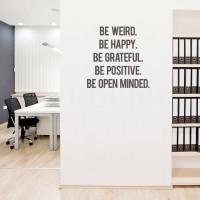 Cutting Sticker Quotes Box#2 Stiker Quote Dinding Kaca Motivasi Kantor