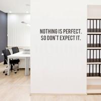 Cutting Sticker Quotes Box#7 Stiker Quote Dinding Kaca Motivasi Kantor