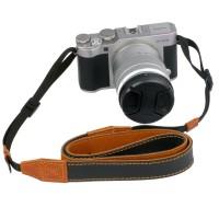 Jual strap kamera mirrorless kulit eibag 1605 Hitam Murah