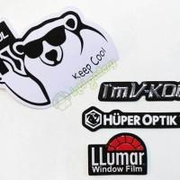 Stiker Kaca Film - Sticker Vkool - Huper Optik - Llumar Original