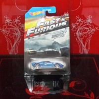 DIECAST HOT WHEELS FORD GT-40 FAST FIVE CARD EDITION FAST AND FURIOUS