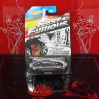 DIECAST HOT WHEELS NISSAN 350Z FAST AND FURIOUS FAST FIVE CARD EDITION