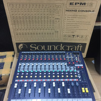 audio mixer Soundcraft EPM12