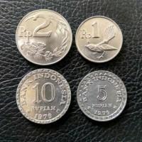 Jual Paket Uang Kuno Mahar Pernikahan 18 Rupiah Koin 10 5 2 1 Murah