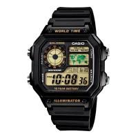 harga Jam Tangan Pria Casio Ae-1200wh-1b Tokopedia.com