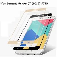 3D Original      Tempered Glass Full 3D Samsung J7 2016 J710 Anti