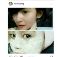 pupur dingin masker beras jagung madu susu kinclong alami dijamin