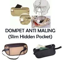 Dompet Travel Waist Bag Dompet Passpor Hidden Wallet Card Organizer Ok