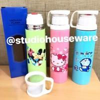 Vacuum Bottle / Thermos / Termos Mickey Hello Kitty Doraemon 500 ml