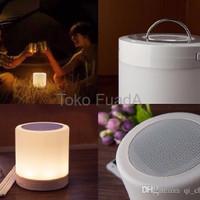Jual promo LAMPU SPEAKER BLUETOOTH RADIO TOUCHSCREEN LAMP EMERGENCY Murah