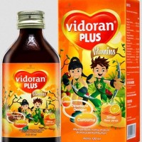 Vidoran Plus Vitamins Frugie 100 ml