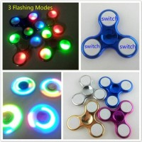 obral spinner led / spiner lampu on off ( motif campur random )
