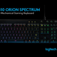 Keyboard LOGITECH G810 ORION SPECTRUM RGB-MECHANICAL GAMING