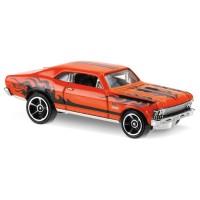'68 Chevy Nova Flames Orange - Hot Wheels HW Hotwheels