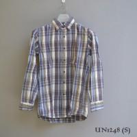 Kemeja Flanel Uniqlo (UN-1248) Ori Size S