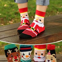 Jual Kaos kaki anak perempuan laki laki Natal Christmas Bagus lucu keren Murah