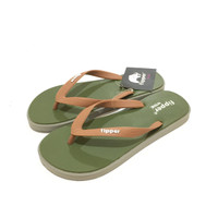 Jual Sandal Fipper Wide Green Army Grey Brown Murah