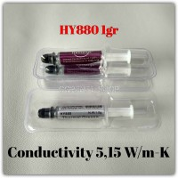 1gr 5.15W/m-K HY880 Thermal Grease Pasta Paste Processor PS XBOX etc