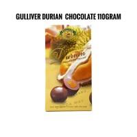 Gulliver Standbox 110gr Durian Chocolate Malaysia Impor Coklat Fruit