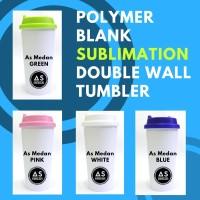 Botol Tumbler Sublim Polos Blank Sublimation Double Wall Tumbler
