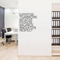 Cutting Sticker Quote Expertise Stiker Kantor Cafe Rumah Kamar Toko