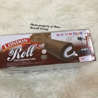 london roll choco flavour cake isi 24pcs