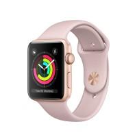 Jual Apple Watch Series 3 GPS 42mm Gold - Pink Sand Sport Band Murah