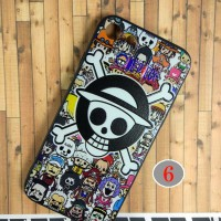 Iphone 7 Cartoon One Piece Music korean style soft silicone Case