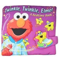 Buku kain elmo, Buku kain edukasi anak, Mainan edukasi anak