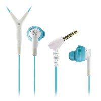 Yurbuds Inspire 400 WNINSP04 Aqua/White Earphone